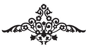 Ornamento floral da página Fotos de Stock Royalty Free