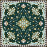 Ornamento floral de Fanur Imagen de archivo libre de regalías
