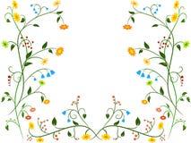 Ornamento floral de la flor Fotografía de archivo