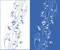 Ornamento floral del vector stock de ilustración