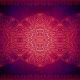 Ornamento floral do círculo abstrato do vetor laço Foto de Stock Royalty Free