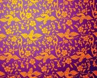 Ornamento floral do estilo chinês Imagens de Stock Royalty Free
