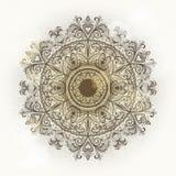 Ornamento floral do Grunge Imagem de Stock Royalty Free