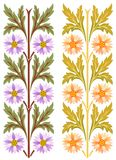 Ornamento floral europeu clássico Imagens de Stock Royalty Free