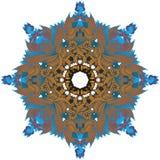 Ornamento floral fantástico ilustración del vector