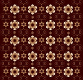 Ornamento floral, fondo del vector Imagen de archivo libre de regalías