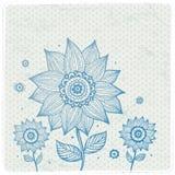 Ornamento floral hermoso ilustración del vector