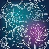 Ornamento floral inconsútil Imagenes de archivo