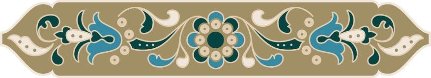 Ornamento floral oriental Fotos de archivo libres de regalías