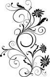 Ornamento floreale Fotografie Stock