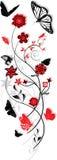 Ornamento floreale illustrazione vettoriale