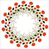 Ornamento floreale 1 Fotografia Stock Libera da Diritti