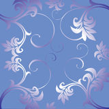 Ornamento floreale. illustrazione di stock