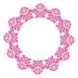 Ornamento floreale classico decorato d'annata Immagine Stock