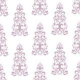 Ornamento floreale classico decorato d'annata Immagini Stock