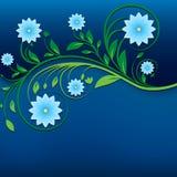 Ornamento floreale d'annata astratto immagine stock libera da diritti