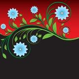 Ornamento floreale d'annata astratto fotografie stock libere da diritti