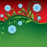 Ornamento floreale d'annata astratto fotografia stock libera da diritti