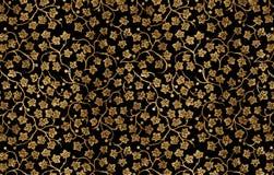 ornamento floreale dell'Mano-illustrazione. Fotografie Stock Libere da Diritti