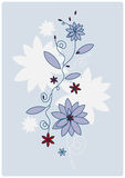 Ornamento floreale di vettore Fotografie Stock Libere da Diritti