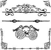 Ornamento floreale - vettore royalty illustrazione gratis