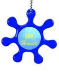 Ornamento formado timón Fotografía de archivo libre de regalías