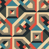 Ornamento geométrico Imágenes de archivo libres de regalías