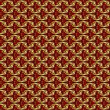 Ornamento geométrico do vetor Teste padrão sem emenda para o fundo, o papel de parede, a impressão de matéria têxtil, o envolvime ilustração stock