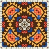 Ornamento geométrico en estilo étnico ilustración del vector