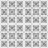Ornamento geométrico japonés tradicional inconsútil Rebecca 36 stock de ilustración
