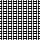 Ornamento geométrico monocromático Imagem de Stock