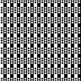 Ornamento geométrico monocromático Imagens de Stock