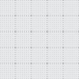 Ornamento geométrico monocromático do teste padrão sem emenda no verde Fotos de Stock