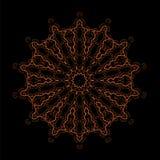 Ornamento geométrico oriental Fotos de archivo libres de regalías