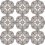 Ornamento geométrico sem emenda Imagens de Stock Royalty Free