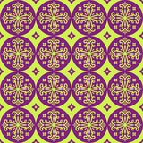 Ornamento geométrico sem emenda Fotografia de Stock Royalty Free
