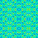 Ornamento geometrico del turchese Immagini Stock