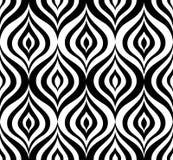 Ornamento geometrico di orienal floreale senza cuciture del modello di Abstact Fotografia Stock Libera da Diritti