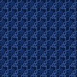 Ornamento geometrico di vettore Modello senza cuciture per fondo, la carta da parati, lo stampaggio di tessuti, lo spostamento, e illustrazione di stock