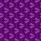 Ornamento geometrico di vettore di porpora Modello senza cuciture per fondo, la carta da parati, lo stampaggio di tessuti, lo spo royalty illustrazione gratis