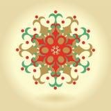 Ornamento geometrico e floreale per progettazione Fotografia Stock Libera da Diritti