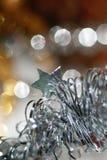 Ornamento. Ghirlanda con la stella 2 Fotografia Stock
