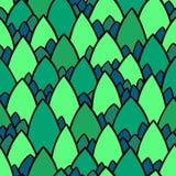Ornamento gráfico Vetor que repete a textura Textura da pele do réptil ilustração stock