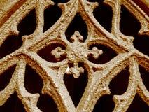 Ornamento grave de la puerta imagen de archivo