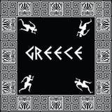 Ornamento greco Fotografie Stock