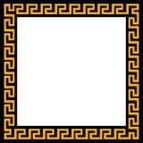 Ornamento griego en un marco cuadrado Ilustración del vector Fotos de archivo libres de regalías