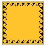 Ornamento griego en un marco cuadrado Ilustración del vector Imagen de archivo