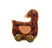 Ornamento Handmade do Natal Imagens de Stock