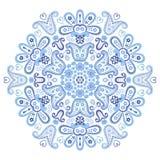 Ornamento hermoso del círculo de Paisley Foto de archivo libre de regalías