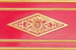 Ornamento hermoso en palacio del sultanato de Yogyakarta Imagen de archivo